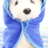 Adorable Colorful Pet Bathrobe Towels Pet Clever