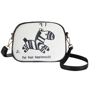 Adorable Pet Print Crossbody Bag Cat Design Bags Pet Clever