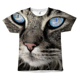 "Amazing ""Cat Blue Eyes"" T-Shirt All Over Print teelaunch Blue Eye S"