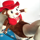Amazing Monkey Rider Costume for Pets Clothes Pet Clever