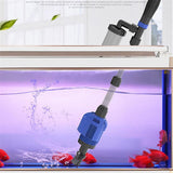 Aquarium Electric Siphon Operated Water Changer Aquarium Water Changer Pet Clever