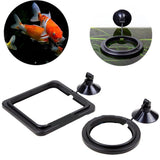 Aquarium Floating Feeding Ring Fish Feeder Pet Clever