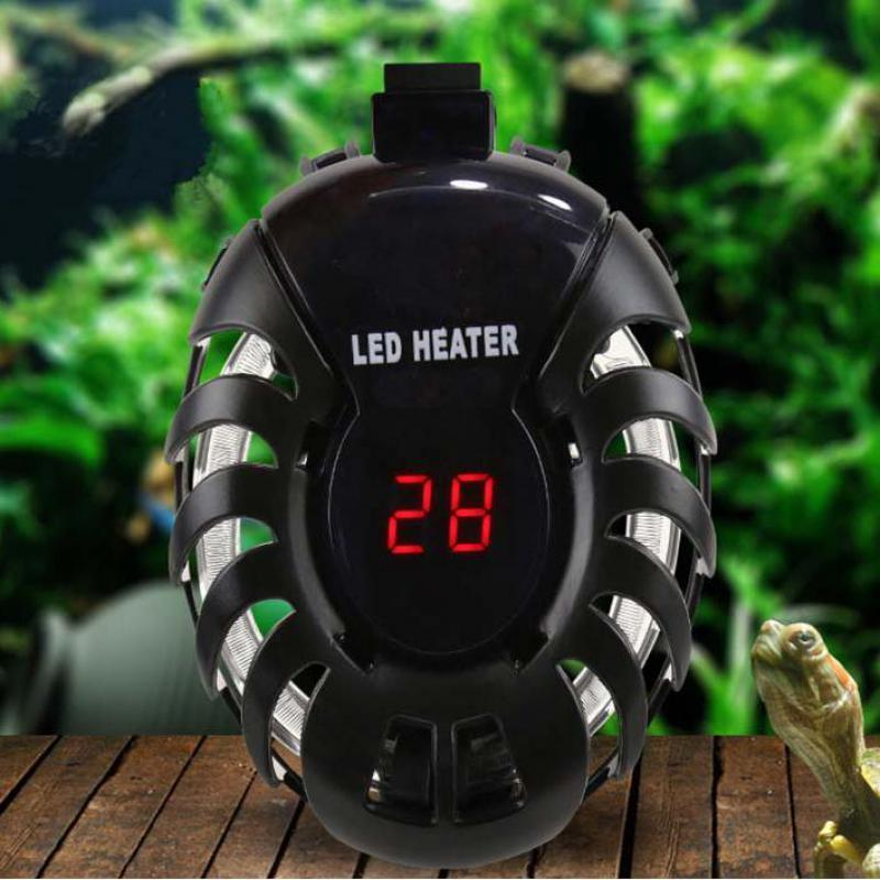 Aquarium Heater Water Electric Heating Rods Heats Pet Clever 50W US Plug