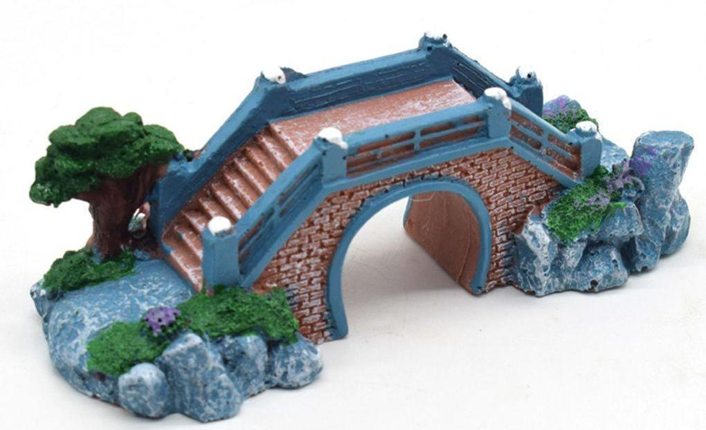 Arch Bridge Fish Tank Aquarium Decoration Aquarium Decoration Pet Clever