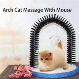 Arch Cat Massage Pet Self Brooming With Sisal Round Base Scratcher Cat Toy Cat Care & Grooming Pet Clever