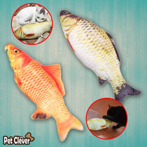 Artificial Fish Pillow Cat Scratching Toy Cat Toys Pet Clever