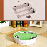 Automatic Rotating Cat Play Teaser Plate Cat Toys Pet Clever