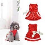 Beautiful Princess Dress for Pets Clothes Pet Clever