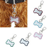 Bone Shape Design Pet ID Tag Dog Leads & Collars Pet Clever