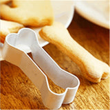 Bones Shaped 6 pcs Set Cookies Cutter Home Decor Dogs Pet Clever