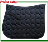 Breathable Horse Saddle Pad Horse Saddle Pet Clever Black