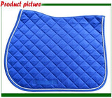 Breathable Horse Saddle Pad Horse Saddle Pet Clever Blue