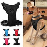 Breathable Nylon Mesh Pet Car Seat Adjustable Leash Harnesses Dog Harness Pet Clever
