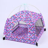 Breathable Pet Indoor Tent Dog Tent Pet Clever purple