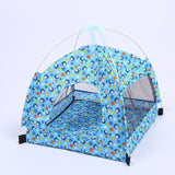 Breathable Pet Indoor Tent Dog Tent Pet Clever blue