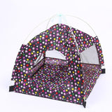 Breathable Pet Indoor Tent Dog Tent Pet Clever navy blue