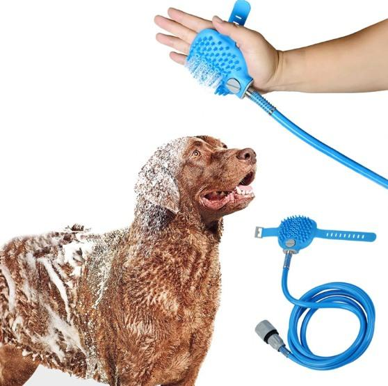 Brush Shaped Pet Shower Head Cleaning Tool Shower Heads Pet Clever
