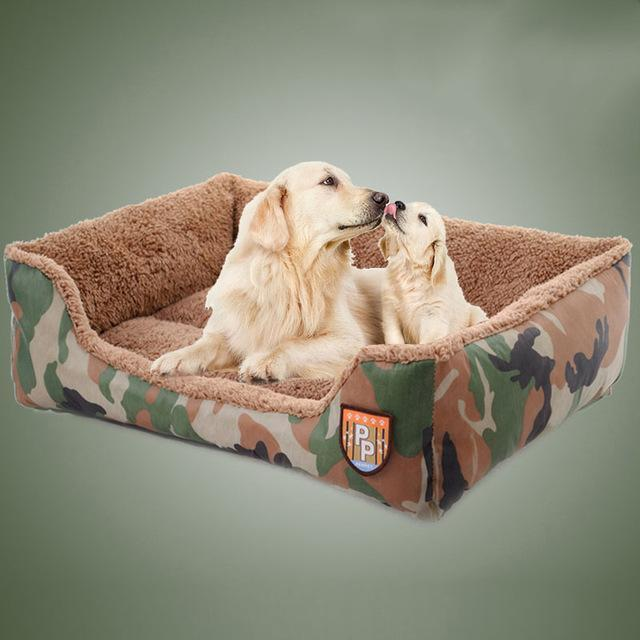 Camouflage Design Pet Soft Cushion Sofa Dog Houses Pet Clever S