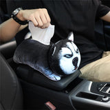 Car Armrest Box Tissue Home Decor Dogs Pet Clever