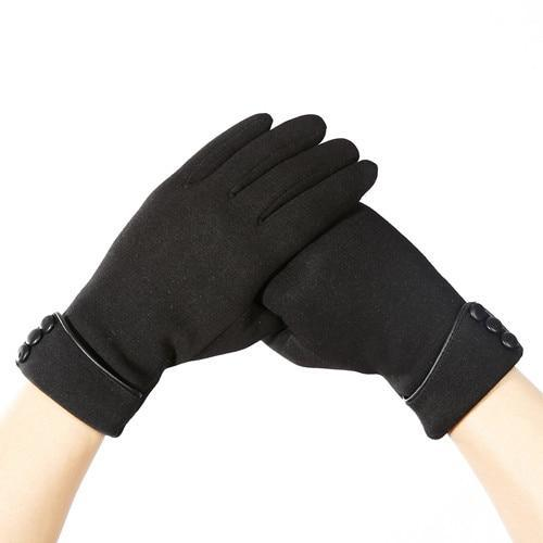 Casual Horse Riding Warm Gloves Horse Riding Gloves Pet Clever black