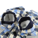 Casual Western Plaid Dog Clothes Dog Clothing Pet Clever