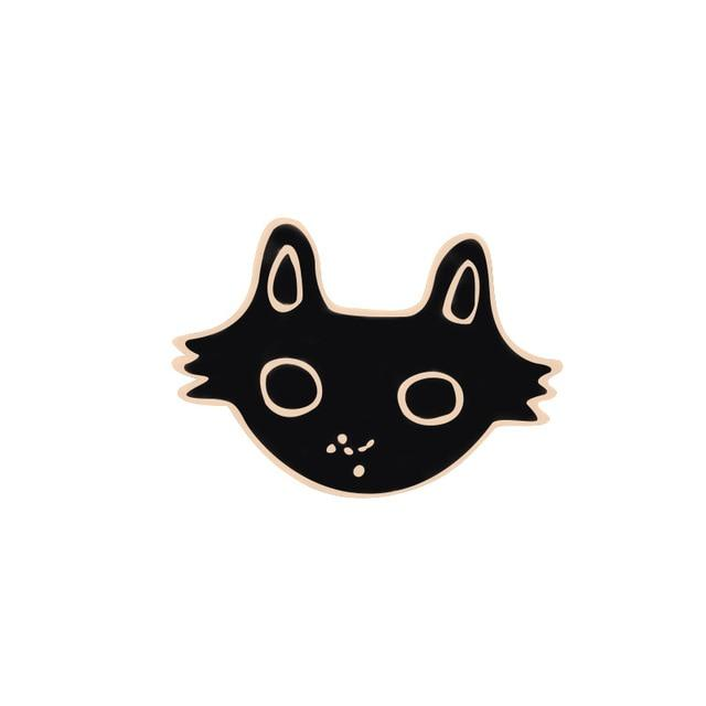 Cat Design Clothes Brooches Cat Design Accessories Pet Clever 1