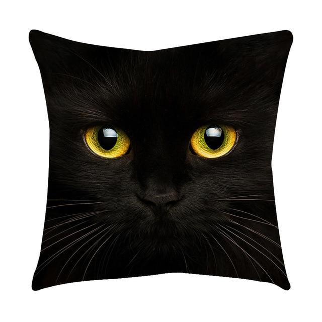 Cat Eyes Design Pillow Cases Cat Design Pillows Pet Clever A