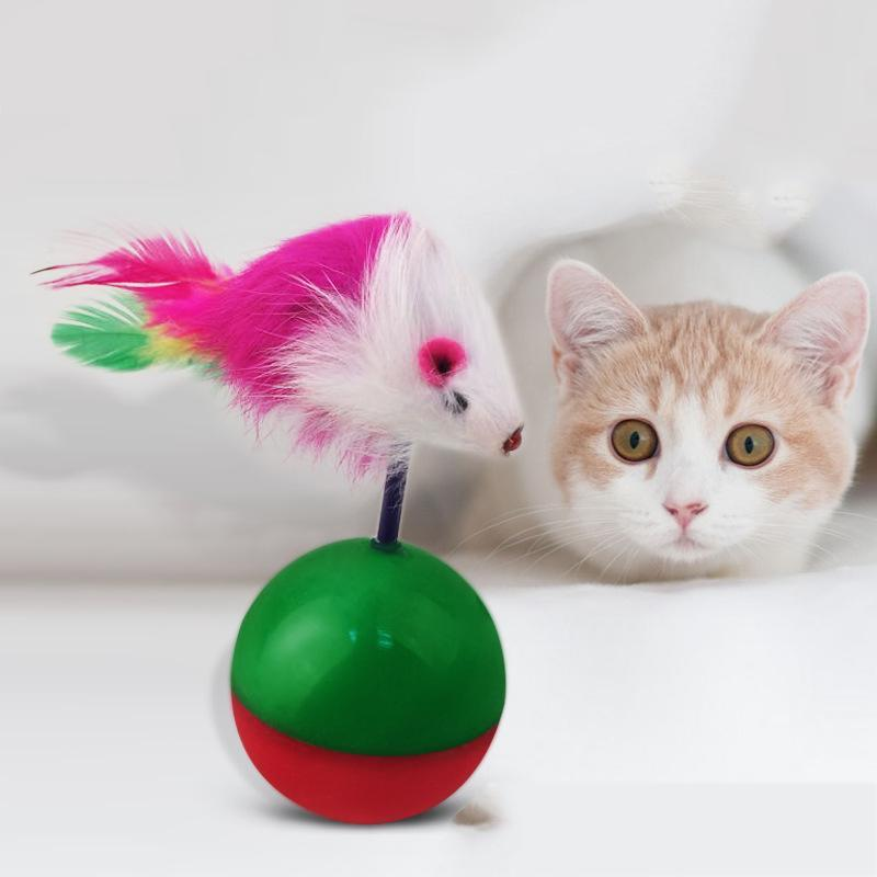 Cat Interactive Mice Toy Cat Toys Pet Clever