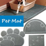 Cat Litter Box Mat For Keep Your Floor Clean Cat Litter Boxes & Litter Trays Pet Clever