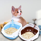 Cat Litter Box With Shovel Cat Litter Boxes & Litter Trays Pet Clever