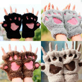 Cat Paw Gloves Cat Design Accessories Pet Clever