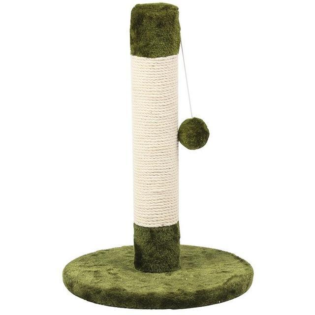 Cat Scratching Post Cat Trees & Scratching Posts Pet Clever Grass green