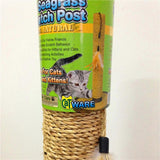 Cat Toy Scratching Post Climbing Furniture With One Feather Toy Cat Trees & Scratching Posts Pet Clever
