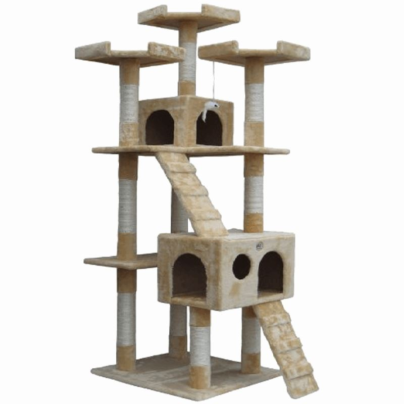 Cat Tree Condo Furniture Cat Trees & Scratching Posts Pet Clever