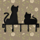 Cat Wall Hooks Home Decor Cats Pet Clever