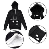 Catagaroo Hoodies with Kangaroo Pouch For Your Cat Cat Carriers Pet Clever