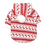 Christmas Pet Thicken Sweatshirts Cat Clothing Pet Clever