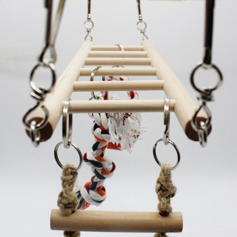 Climbing Hanging Bridge Ladder Bird Toy Bird Ladder Pet Clever