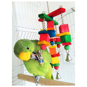 Colorful and Moveable Swing Parrot Bird Toys Bird Toys Pet Clever
