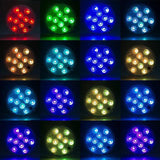 Colorful Aquarium Submersible LED Lights Lightings Pet Clever