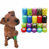 Colorful Elastic Pet Bandage Medical Pet Clever