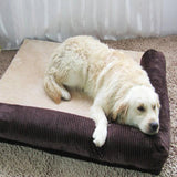 Comfortable and Detachable Dog Bed Sofa Mat Dog Beds & Blankets Pet Clever Black Large