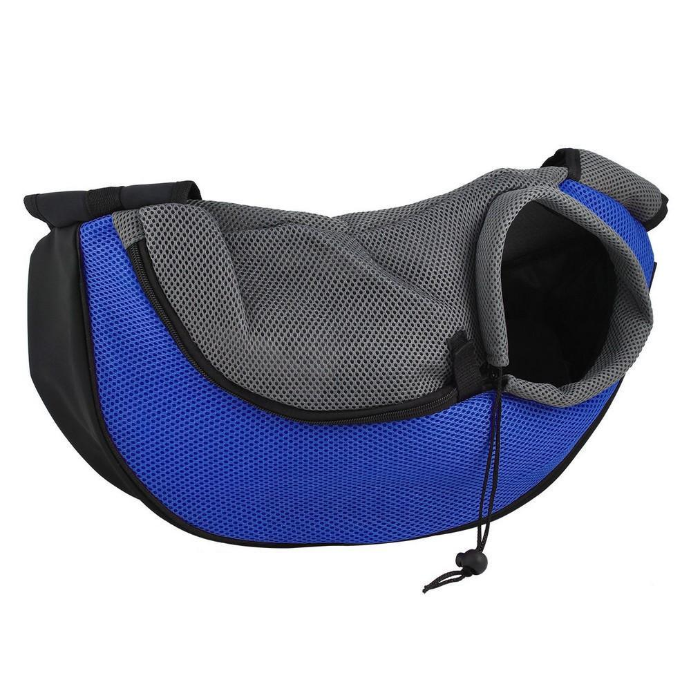 Comfortable Shoulder Travel Carrier for Pets Dog Carrier & Travel Pet Clever L Blue