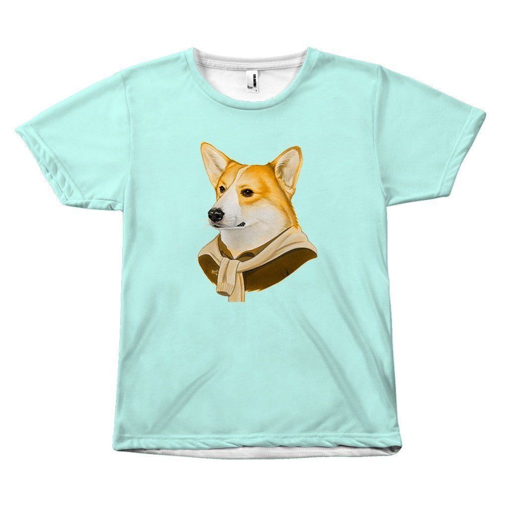 Corgi on Fleek Design T-Shirt All Over Print teelaunch Corgi S