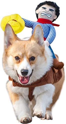 Cowboy Halloween Dog Costume Dog Clothing Pet Clever S