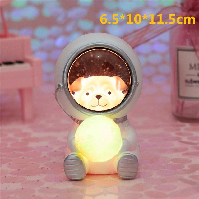 Creative Animal Astronauts Night Light Other Pets Design Accessories Pet Clever Dog S