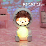 Creative Animal Astronauts Night Light Other Pets Design Accessories Pet Clever Dog L