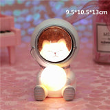 Creative Animal Astronauts Night Light Other Pets Design Accessories Pet Clever Cat L
