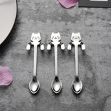 Creative Cat Design Coffee & Tea Spoon Home Decor Cats Pet Clever