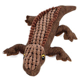 Crocodile Style Squeak Dog Chewing Training Toy Dog Toys Sport & Training Pet Clever Brown
